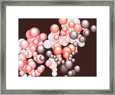 Blobbles Framed Print