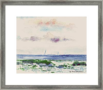 Block Island Sound Framed Print
