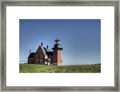 Block Island  Southeast Light Framed Print