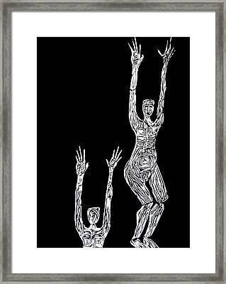 Block Framed Print by Patricia Bigelow