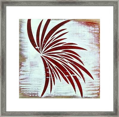 Block Vi Framed Print by Desiree Warren