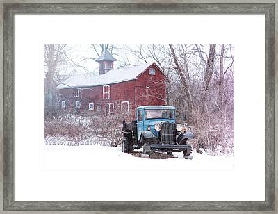 Blocked Framed Print by Nicki McManus