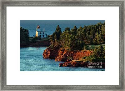 Blockhouse Point Lighthouse Framed Print