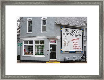 Bloedow's Bakery Winona Mn Framed Print