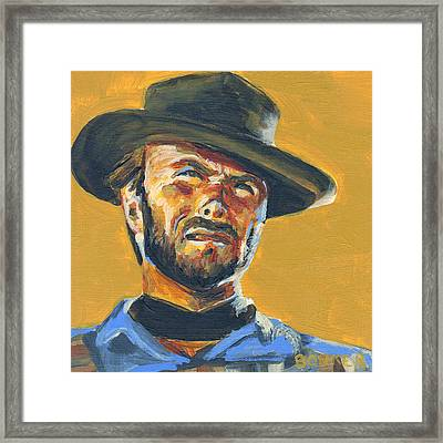 Blondie      The Good The Bad And The Ugly Framed Print