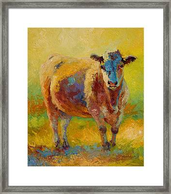 Blondie - Cow Framed Print