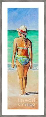 Blondie Framed Print