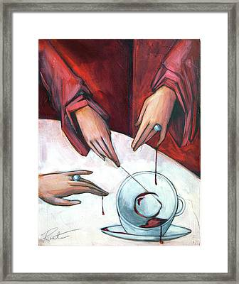 Blood Magic Framed Print
