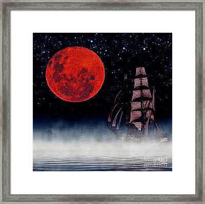 Blood Moon Framed Print by Blair Stuart