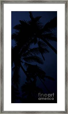 Blood Moon In Hawaii  - Triptych   Part 3 Of 3 Framed Print