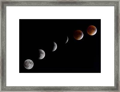 Blood Moon Lunar Eclipse Framed Print