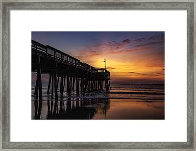 Blood Orange Morn Framed Print