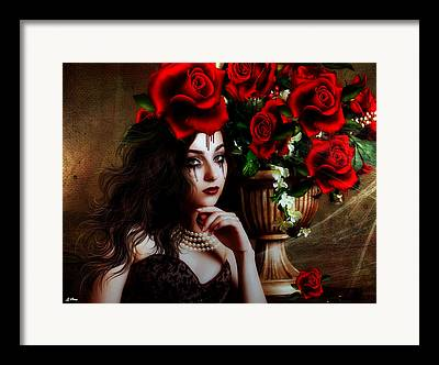 Deceit Mixed Media Framed Prints