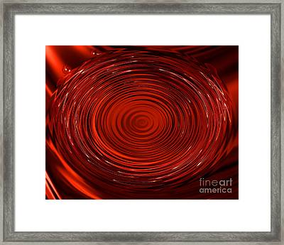 Blood Tears Framed Print