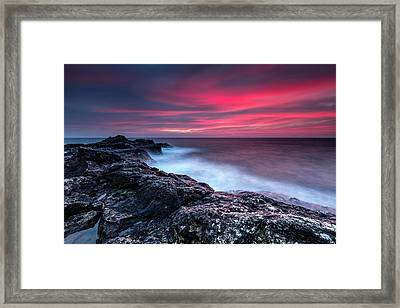 Bloody Dawn Framed Print