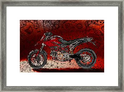 Bloody Italian Beauty Framed Print by Radoslaw Kowzan