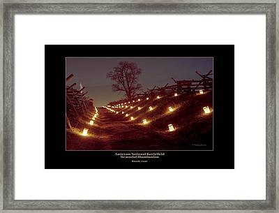 Bloody Lane 99 Framed Print by Judi Quelland
