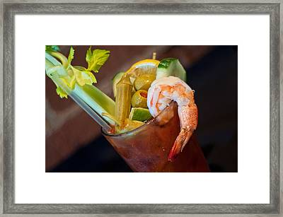 Bloody Mary Framed Print by Rich Leighton