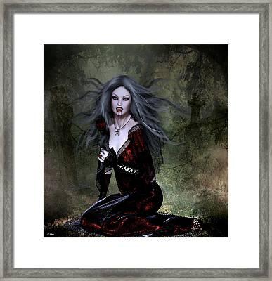 Bloody Valentine Framed Print by G Berry