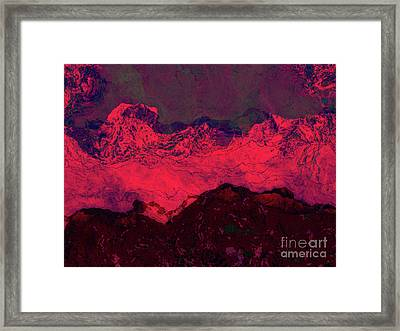 Bloodyhills Framed Print