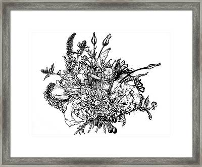 Bloom Framed Print by Dominique Rose