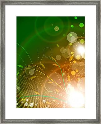 Bloom Framed Print by Sandra Hoefer