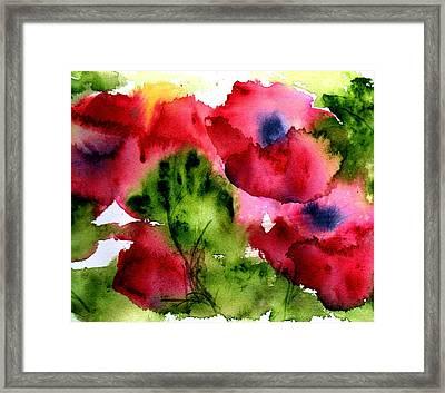 Blooming Framed Print by Anne Duke
