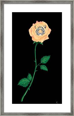 Blooming Bengal Framed Print