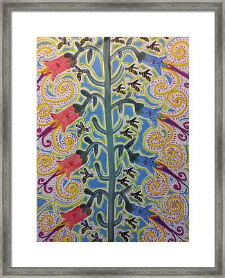 Blooming Flowers 2 Framed Print by William Douglas
