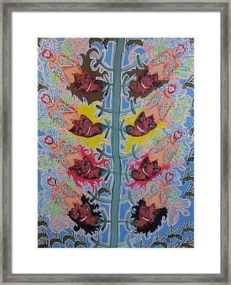 Blooming Flowers Framed Print by William Douglas