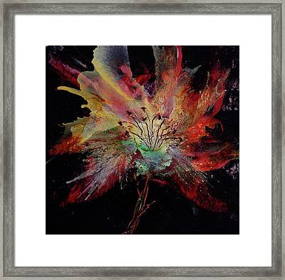 Blooming For You Framed Print by Cynthia Matthews