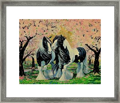 Blooming Gypsies Framed Print by Ruanna Sion Shadd a'Dann'l Yoder