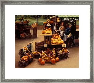 Blooming Hill Farms II Framed Print by Natasha Harsh