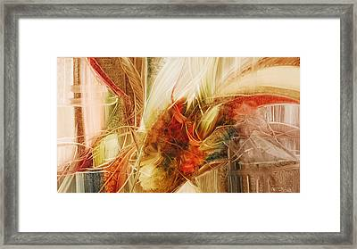 Blooming In The Dawn Framed Print by Fatima Stamato