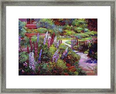 Blooming Splendor Framed Print by David Lloyd Glover