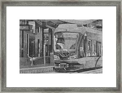Bloomington Station Framed Print