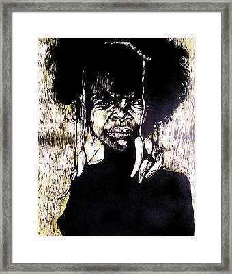 Blossom Framed Print by Chester Elmore