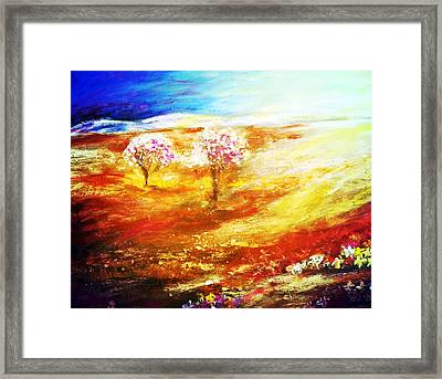 Blossom Dawn Framed Print