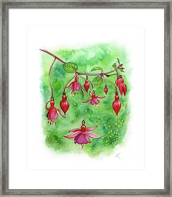 Blossom Fairies Framed Print