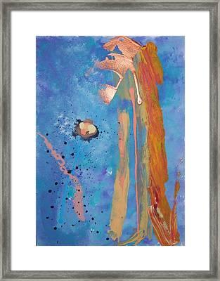 Blossom Framed Print by Helene Henderson