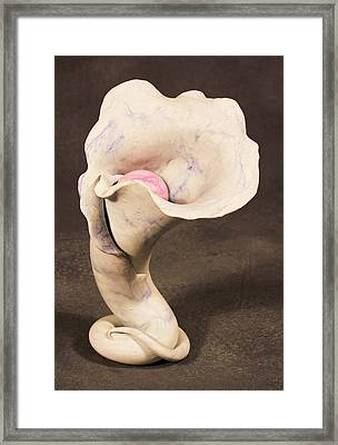 Blossom Framed Print by Lonnie Tapia