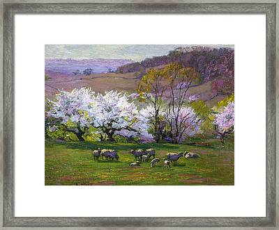 Blossom Time Framed Print by Edward Henry Potthast