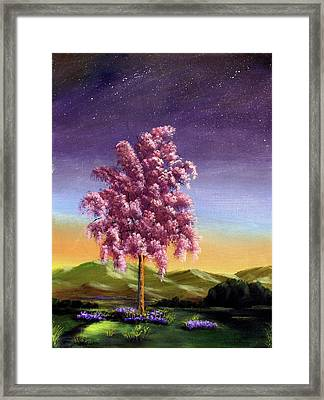 Blossoming Framed Print