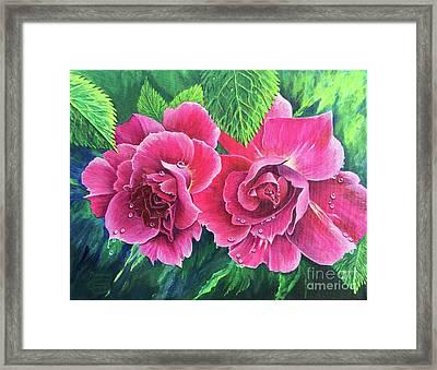 Blossom Buddies Framed Print