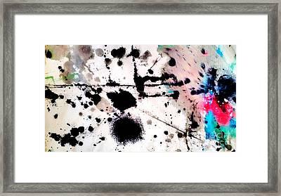 Blotch  Framed Print