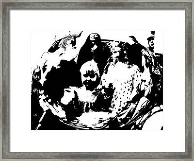 Blow Out The Candles Framed Print by JoAnn SkyWatcher