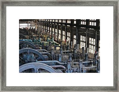 Blower Building Framed Print