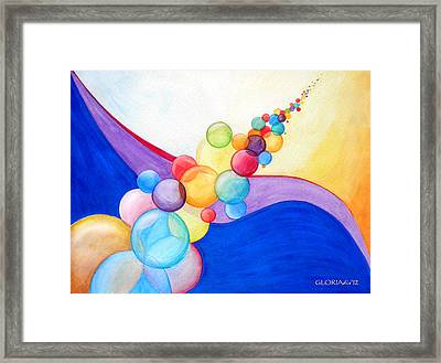 Blowing In The Wind Framed Print by Gloria Di Simone