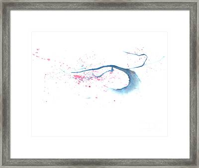 Blowing In The Wind I Framed Print by Mui-Joo Wee