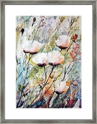 Blowing In The Wind Framed Print by Wilfred McOstrich